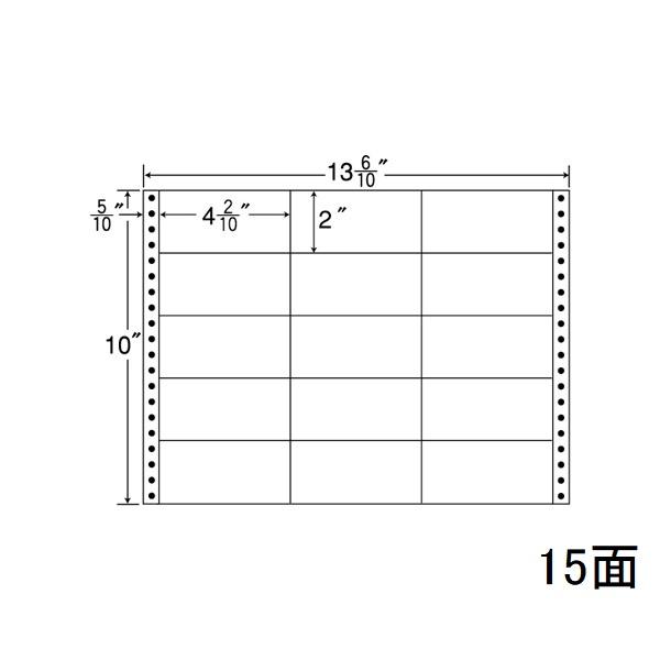 東洋印刷(ナナワード) 連続ラベル ナナフォーム MタイプM13N