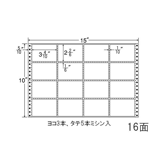 東洋印刷(ナナワード) 連続ラベル ナナフォーム MタイプMT15K
