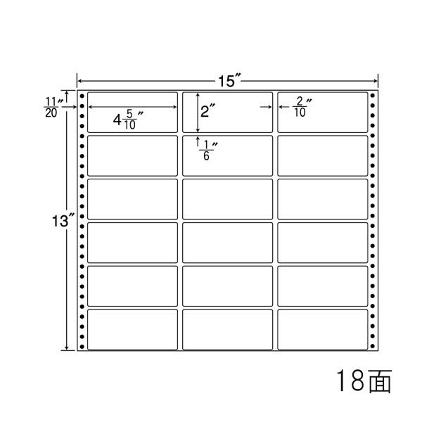 東洋印刷(ナナワード) 連続ラベル ナナフォーム MタイプMX15B