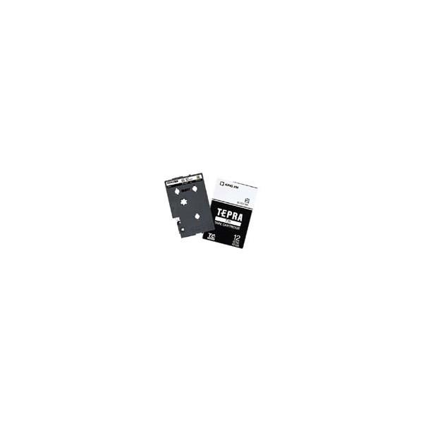 テプラ 売れ筋ランキング 激安 TR用テープカートリッジ キングジム 透明ラベル 12mm 黒文字 TT12K