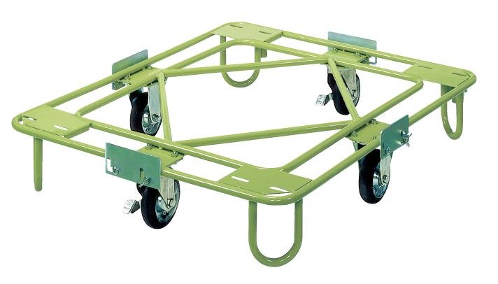 サカエ(SAKAE) 自在移動回転台車 軽量型 標準タイプ RA-2G W1010xD810xH194mm