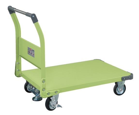 サカエ(SAKAE) 特製四輪車(フロアストッパー付) TAN-55F W955xD630xH876mm