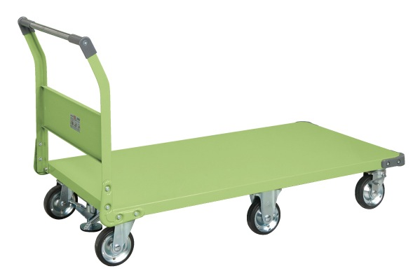 サカエ(SAKAE) 特製六輪車クイックターン(フロアストッパー付) TQN-99 W1455xD780xH909mm