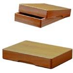 期間限定特別価格 長く愛用したい木製タイプ . yoshino YB-B4 商い B4 木製決裁箱