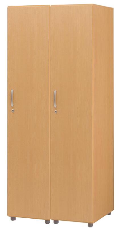 HITECHWOOD【ハイテクウッド】 SOHO用 木製フリージョイントロッカー【1段2列】FJLS-NA ナチュラル W790xD570xH1860
