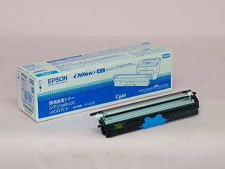 EPSON(エプソン)国内純正品 LP-S510用 LPC4T7CV 環境推進トナー シアン Mサイズ(2,700枚)