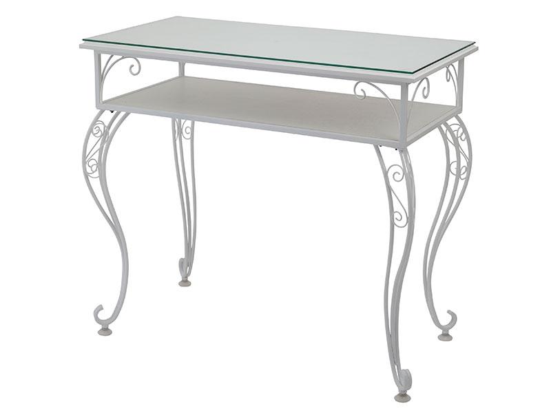 【ガーリーな女の子のための空間に!】Laluce(ラルーチェ)テーブル【送料無料】