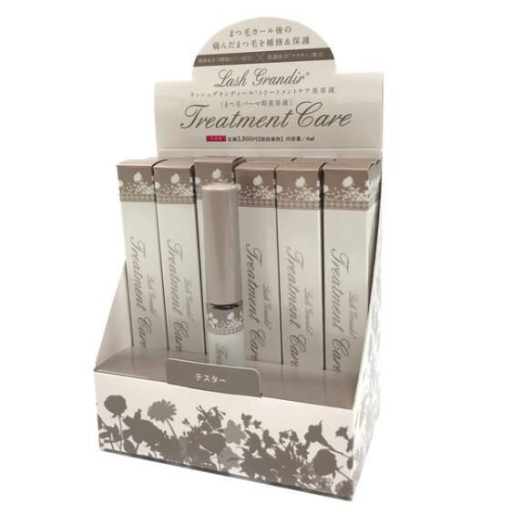 ラッシュグランディール トリートメントケア美容液 12本セット(販売BOX付) まつ毛パーマ用美容液 6ml
