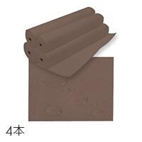 【送料無料】ペーパーシーツ (防水タイプ) ブラウン (4本単位) 幅90cm×長さ95m