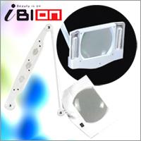 【送料無料】アイビオン 拡大鏡 4機能美顔器専用拡大鏡