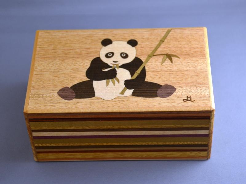 5寸12回秘密箱 プラス1 パンダ