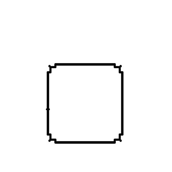 アルインコ エクステリア型材 バルコニー 柱 寸法:70×70×2.1mm 長さ:3,000mm ブロンズ,アルミ型材,アルミ,ALINCO 品番:BB100B3 ※合計1万円以上で送料無料