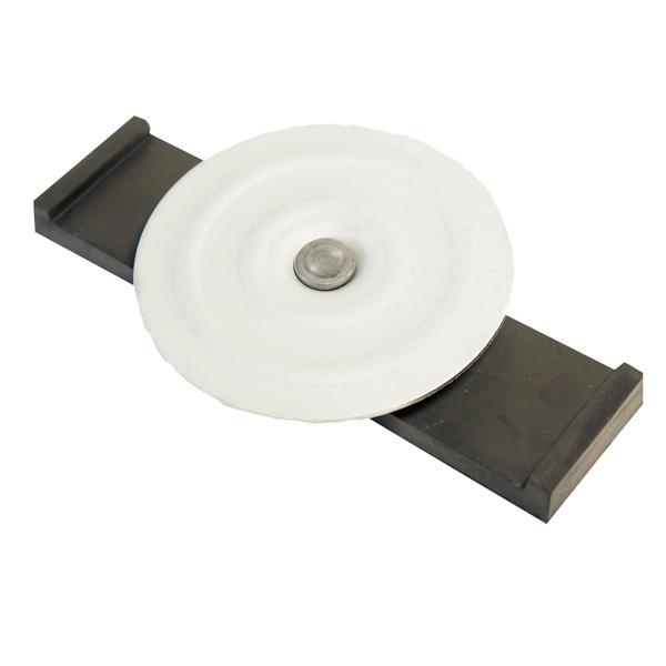 【覆工板セフティーキャップ(Sキャップ)】100個セット。(AR-1051) 覆工板のフック用穴をふさぎます。覆工板Sキャップ,覆工板スチールキャップ(アラオ) 覆工板セイフティーキャップ