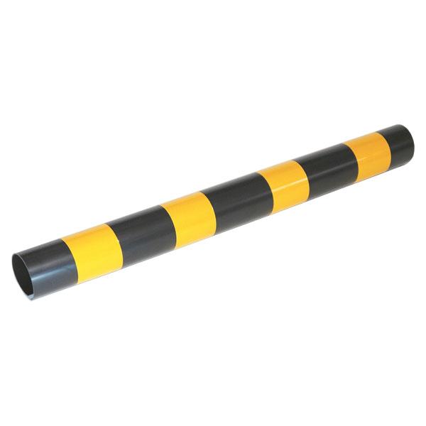 【送料無料】トラピカ 48.6Ф×500L 100本セット 安全喚起,黄色の反射シール付き ARAO (アラオ) AR-1071