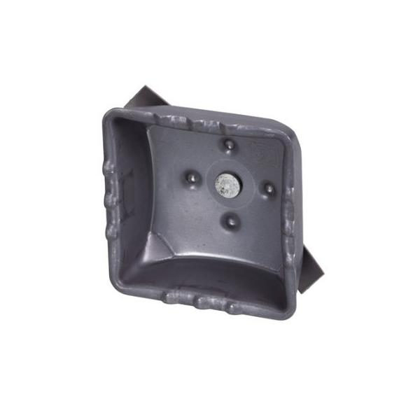 KS ハネキャップ 60角用 250個セット バタに簡単にたたき込め、バネによって抜けにくくなっています。クニモト(国元商会)0140060