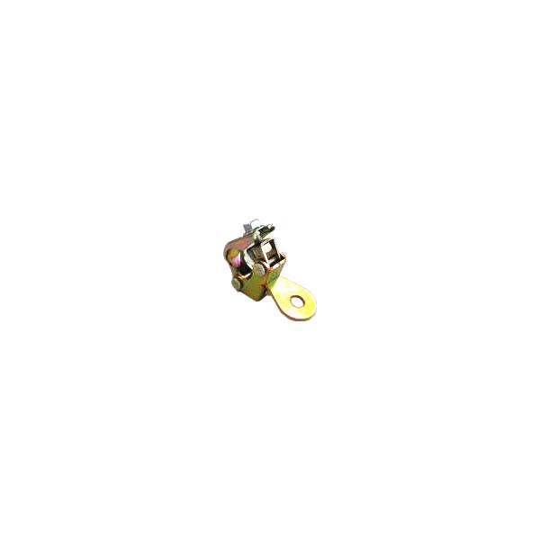 ミニひっかけクランプ(ワイヤー張り用万能ハンガー)2タイプの形状から選んでください【40個セット】Φ22.2とΦ19.1兼用。防獣ネットやワイヤー等が簡単に張れる。野菜の誘引、果樹棚の親線、防風防鳥、ネットの番線や樹脂線などに。各種クランプ(マルサ)