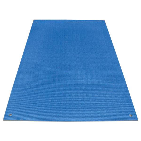 【送料無料】ワニ板 1100×1800mm 4枚セット 厚さ:16mm 重量:5kg 色:ブルー ワニ印の養生敷板。発泡再生ポリエチレン製なので腐らず、錆びません!樹脂製 WANIBAN(日大工業)