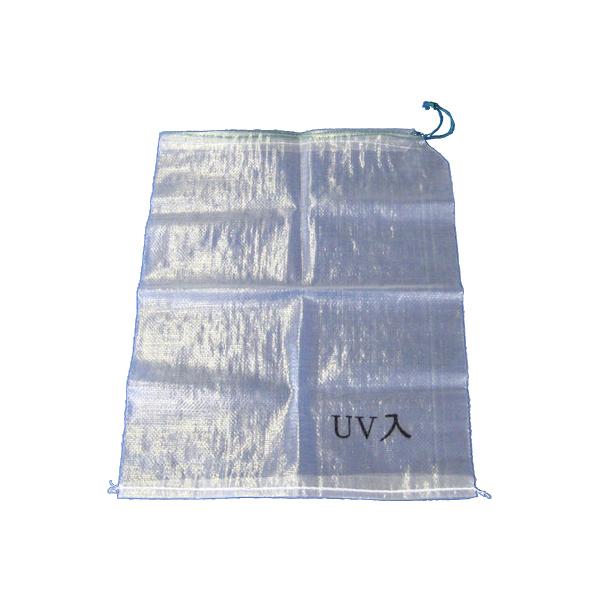 【土のう袋】200枚セット。UVカット材配合で外置きでも劣化しにくい。破れにくい土嚢袋。破損しにくいのでクランプのボルトなどが袋の外に飛び出るのを軽減。災害対策、どしゃ・水害・浸水対策。止水。正式名称は、「クリスタル土のう袋UVカット剤入り」