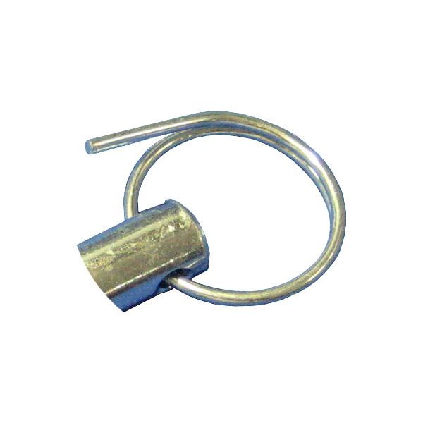 リング 止めピン用リング 500個セット リングのみでの販売。止めピン補修(メンテナンス用)に。枠組み足場部品。建枠足場の連結用です。(A-20用)補修部品。建設・建築・仮設機材の補修部品(メンテナンス部品)