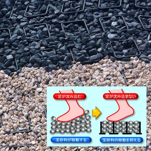 【送料無料】玉砂利固定具 せきそうフィット せきそうフィット 520mm×520mm×33.5mm 20枚セット 玉砂利の移動を抑えることで、歩きやすく、美しい舗装を維持します 520mm×520mm×33.5mm。 駐車場,神社参道 駐車場,神社参道 ※個人宅配送不可品(ウッドプラスチックテクノロジー), フェブインターナショナル:f3e2ccb0 --- sunward.msk.ru