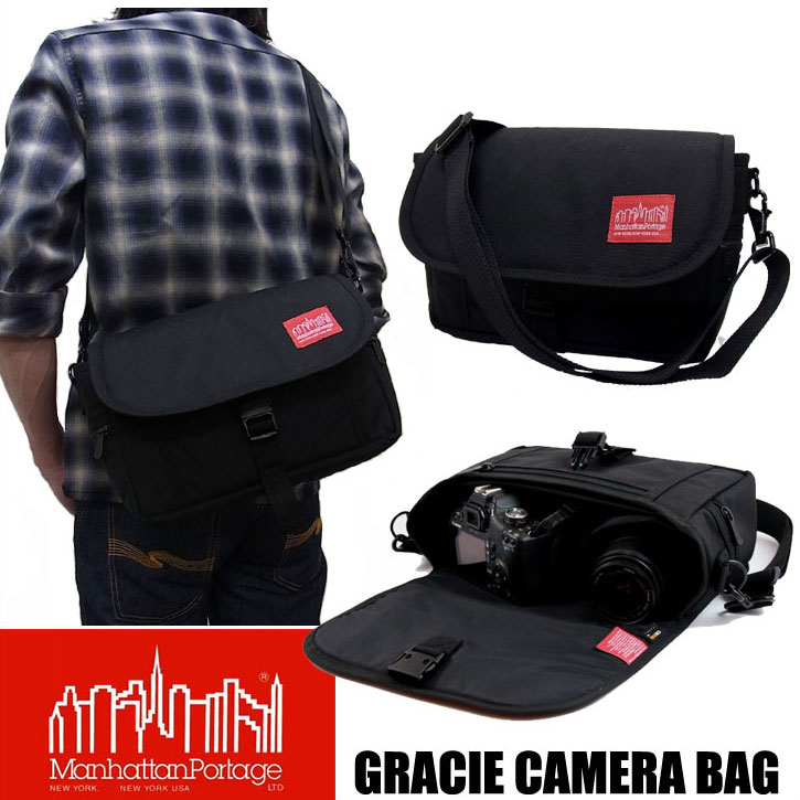 【送料無料】マンハッタンポーテージ Manhattan Portage MP1545 GRACIE CAMERA BAG カメラバッグ ショルダーバッグ