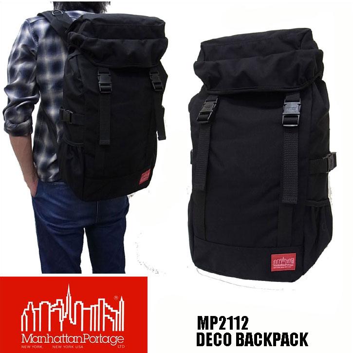 マンハッタンポーテージ MP2112 DECO BACKPACK デコ バックパック リュック 日本限定モデル Manhattan Portage