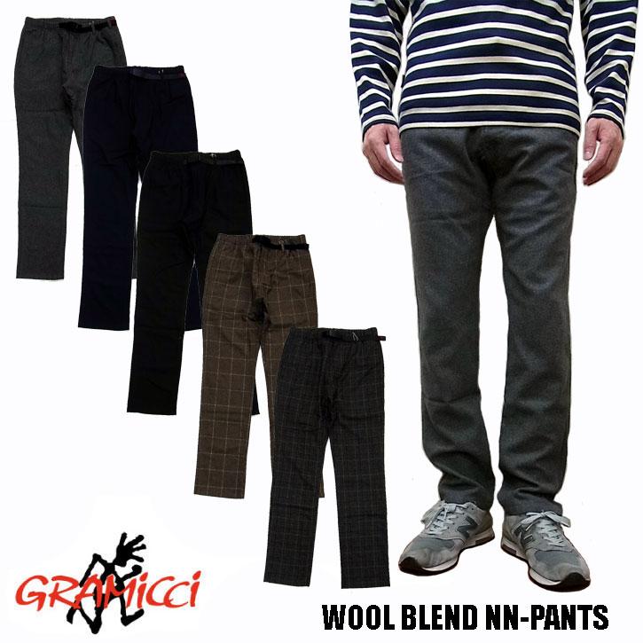 GRAMICCI WOOL BLEND NN-PANTS グラミチ ウールブレンド ナローパンツ 全5色 GMP-19F061