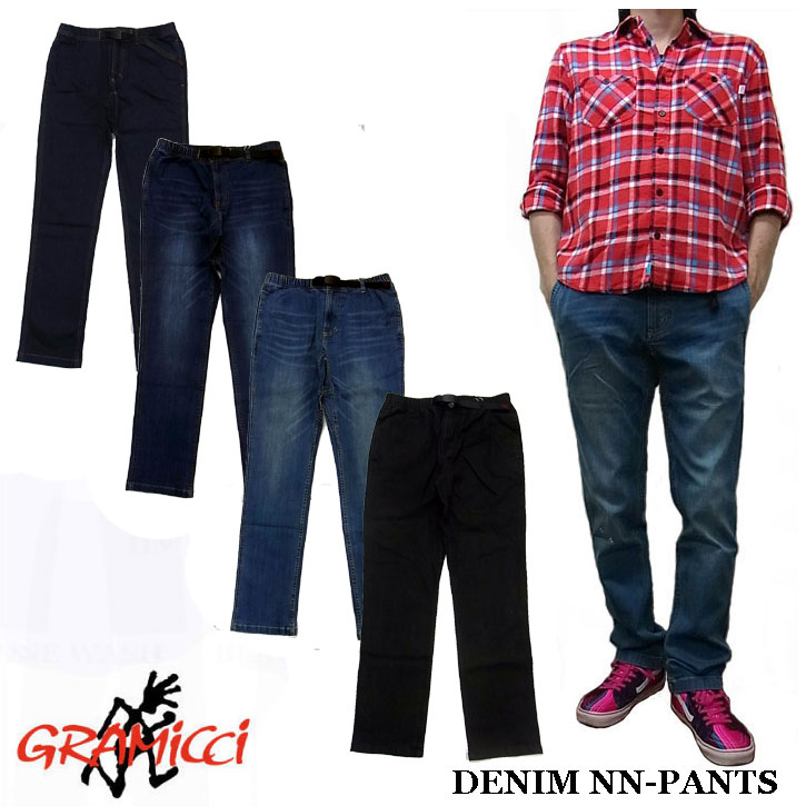 GRAMICCI DENIM NEW NARROW PANTS 全4色 グラミチ デニム ストレッチ ナローパンツ 0816-DEJ