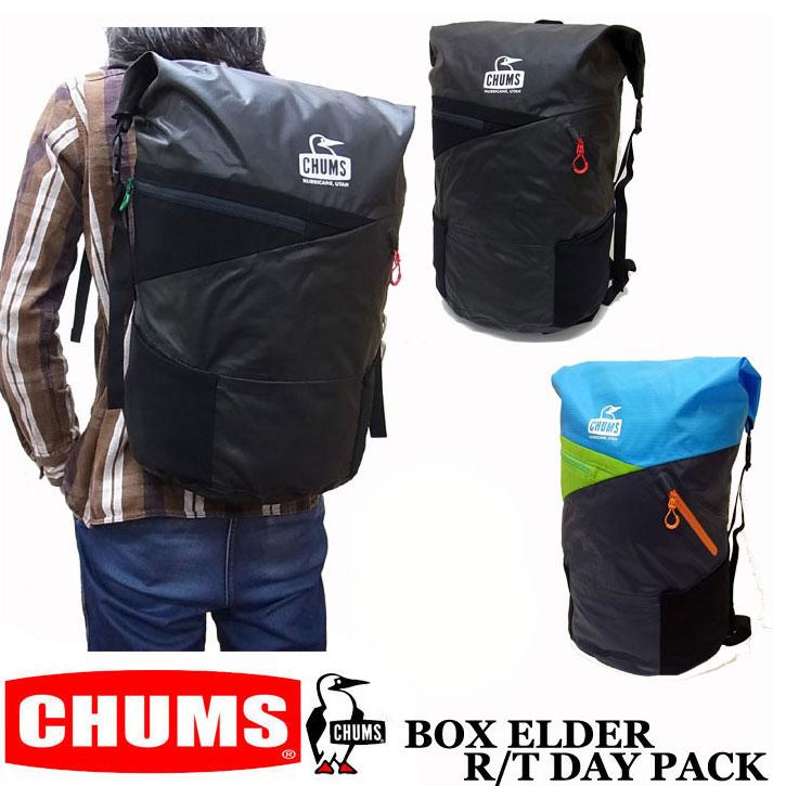 CHUMS BOX ELDER R/T DAY PACK ボックスエルダー ロールトップ デイパック CH60-2130 チャムス康撥水 リュック バックパック 男女兼用 ユニセックス