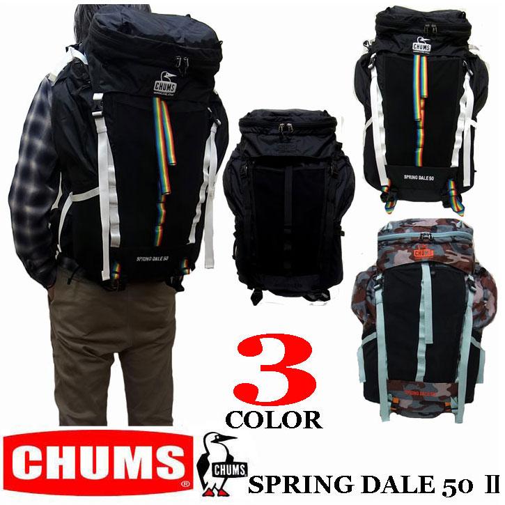 CHUMS SPRING DALE 50 2 MEN'S チャムス スプリングデール メンズ リュック バックパック ch60-2213