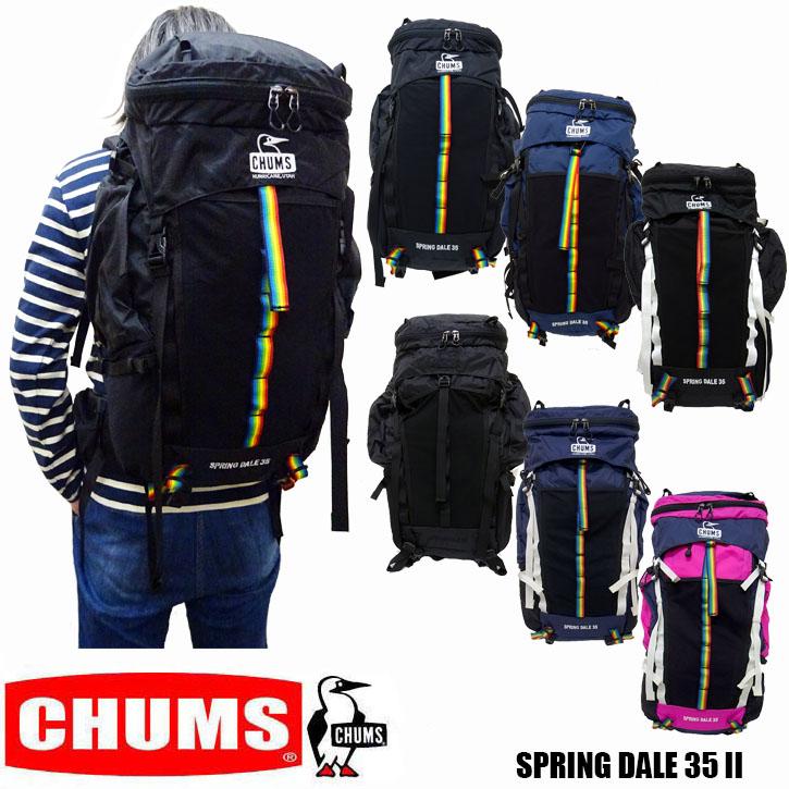 CHUMS SPRING DALE 35 2 チャムス スプリングデール リュック バックパック ch60-2215