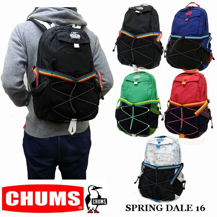 55accdd67742 【CHUMS】チャムスより本格ラインのリュック!! CHUMS SPRING DALE 16 チャムス スプリングデール リュック バックパック  ch60-2497