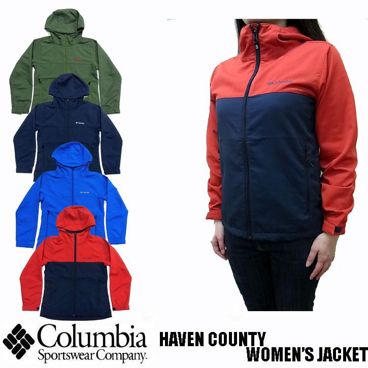 2019新作 Columbia HAVEN COUNTY WOMEN'S JACKET 全4色 PL3091 コロンビア ヘブンカウンティ レディース ジャケット ナイロンジャケット  マウンテンパーカー