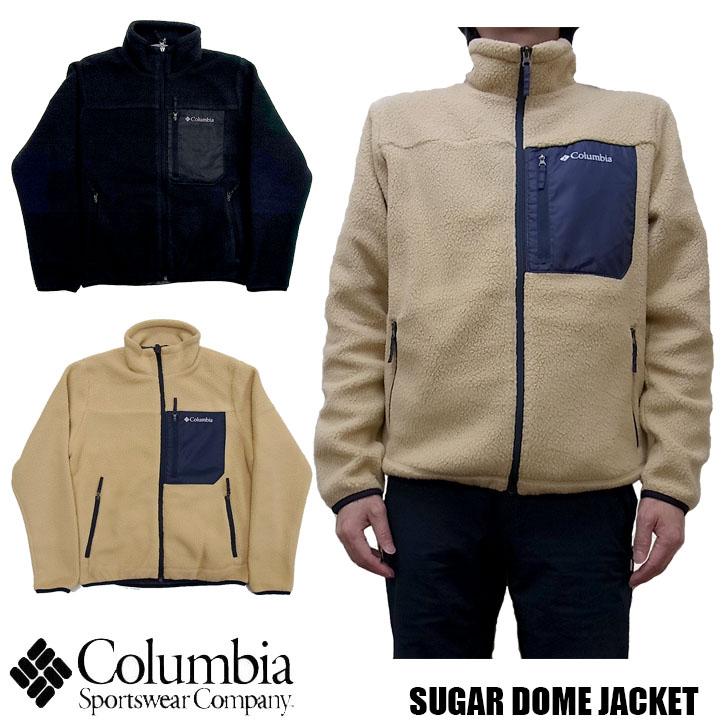 2019秋冬新作 Columbia SUGAR DOME JACKET 全2色 PM1614 コロンビア シュガードームジャケット フリース ジャケット