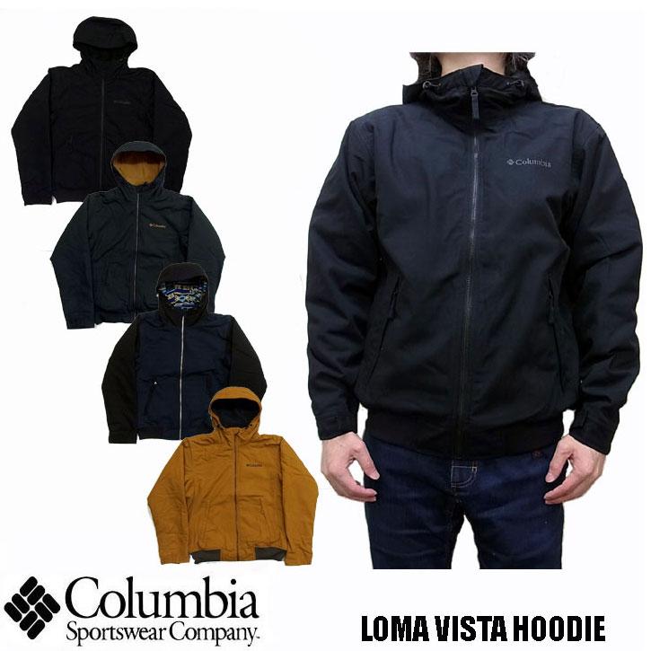 2018秋冬新作 Columbia LOMA VISTA HOODIE 全4色 PM3396 コロンビア ロマビスタフーディ ナイロンジャケット マウンテンパーカー