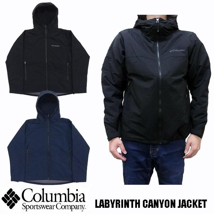 Columbia LABYRINTH CANYON JACKET 全2色 PM3787 コロンビア ラビリンスキャニオンジャケット ナイロンジャケット マウンテンパーカー