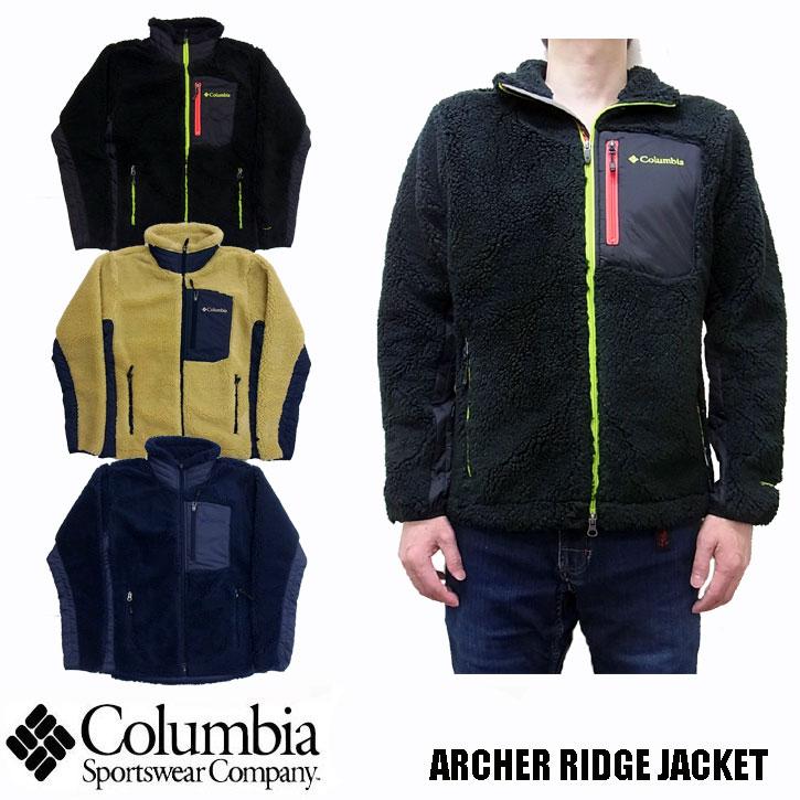 2018秋冬新作 Columbia ARCHER RIDGE JACKET 全3色 PM5613 コロンビア アーチャーリッジジャケット フリース ジャケット