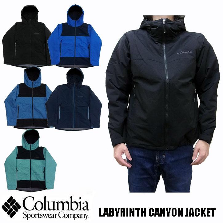Columbia LABYRINTH CANYON JACKET 全5色 PM5628 コロンビア ラビリンスキャニオンジャケット ナイロンジャケット マウンテンパーカー