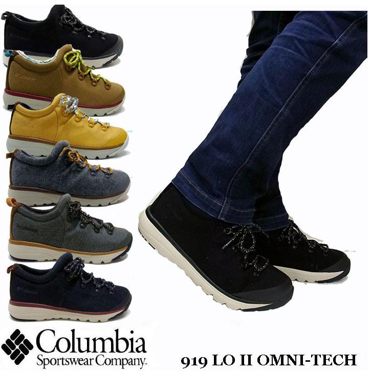 COLUMBIA 919 LO II OMNI-TECH 全6色 YU3906 メンズ コロンビア クイック ロー オムニテック ブーツ