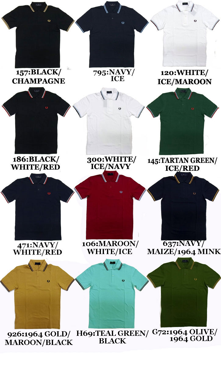 02cb2465 ... Product made in all 20 colors of 2019 new work FRED PERRY THE ORIGINAL  TIPPED FRED ...