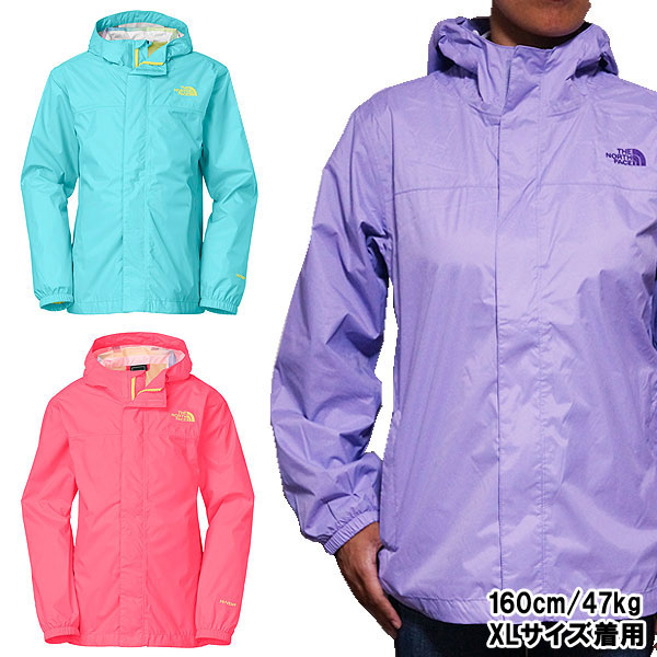 f80237e9 The north face jacket girls Zipline rain jacket Zipline Rain Jacket, The  North Face for ...