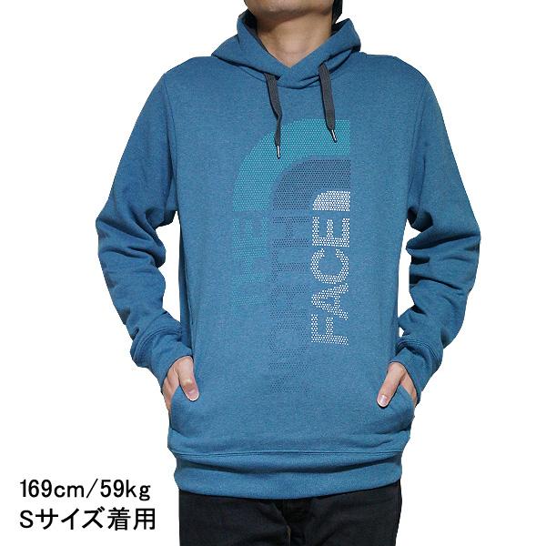 16863f0d North Face parka men Trivert pullover The North Face Men's Trivert Hoodie  Pullover Blue Coral Heather/Asphalt Grey