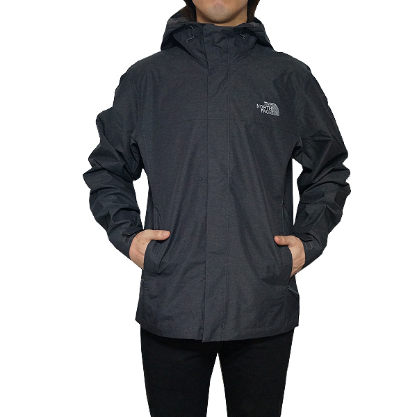ノースフェイス メンズ ベンチャー 2 フーデッド ジャケット The North Face Men's Venture 2 Hooded Jacket Tnf Dark Grey Heather/Tnf Dark Grey Heather