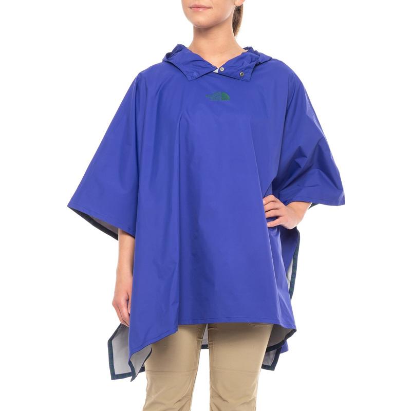 ノースフェイス レディース レインポンチョ 防水ジャケット 雨具 カッパ コラボモデル The North Face Rain Poncho Lapis Blue