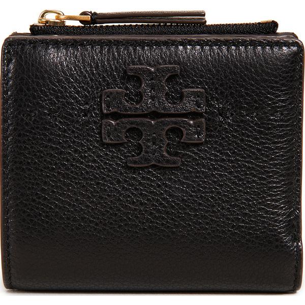 Tory Burch 財布 Mcgraw Mini Foldable Wallet トリーバーチ Mcgraw ミニ フォルダブル ウォレット ブラック Black