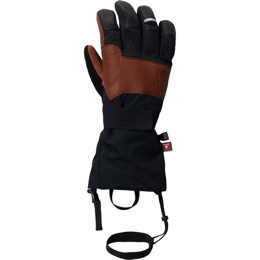 Mountain Hardwear マウンテンハードウェア 手袋 メンズ グローブ アウトドア ブランド 登山 カジュアル (取寄)マウンテンハードウェア メンズ ハイ エクスポージャー ゴアテックス グローブ - メンズ Mountain Hardwear Men's High Exposure GORE-TEX Glove - Men's Black