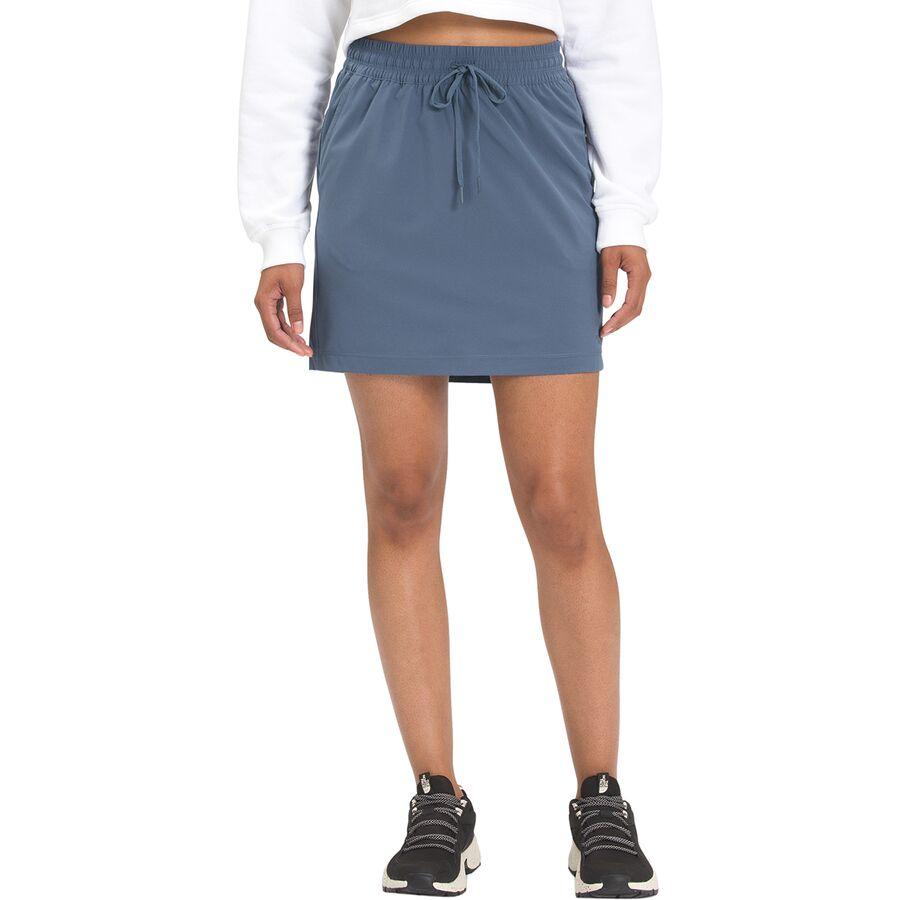 希望者のみラッピング無料 The North Face ノースフェイス スカート レディース ショート アウトドア ブランド 受注生産品 カジュアル 取寄 ネバー Vintage Indigo ウェアリング Never Stop ストップ ウィメンズ Skirt Women's - Wearing