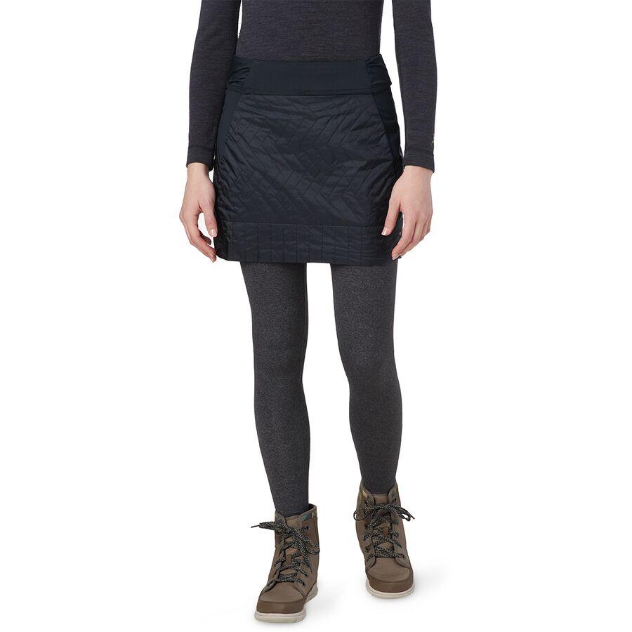 Mountain Hardwear マウンテンハードウェア スカート レディース ショート アウトドア ブランド カジュアル 取寄 買物 トレッキン Skirt Insulated Black ミニ Mini Women's 爆安プライス インサレーテッド - ウィメンズ Trekkin