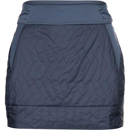 Mountain SALENEW大人気! Hardwear 保障 マウンテンハードウェア スカート レディース ショート アウトドア ブランド カジュアル 取寄 トレッキン Trekkin Women's - ミニ Mini Blue Slate インサレーテッド Insulated ウィメンズ Skirt