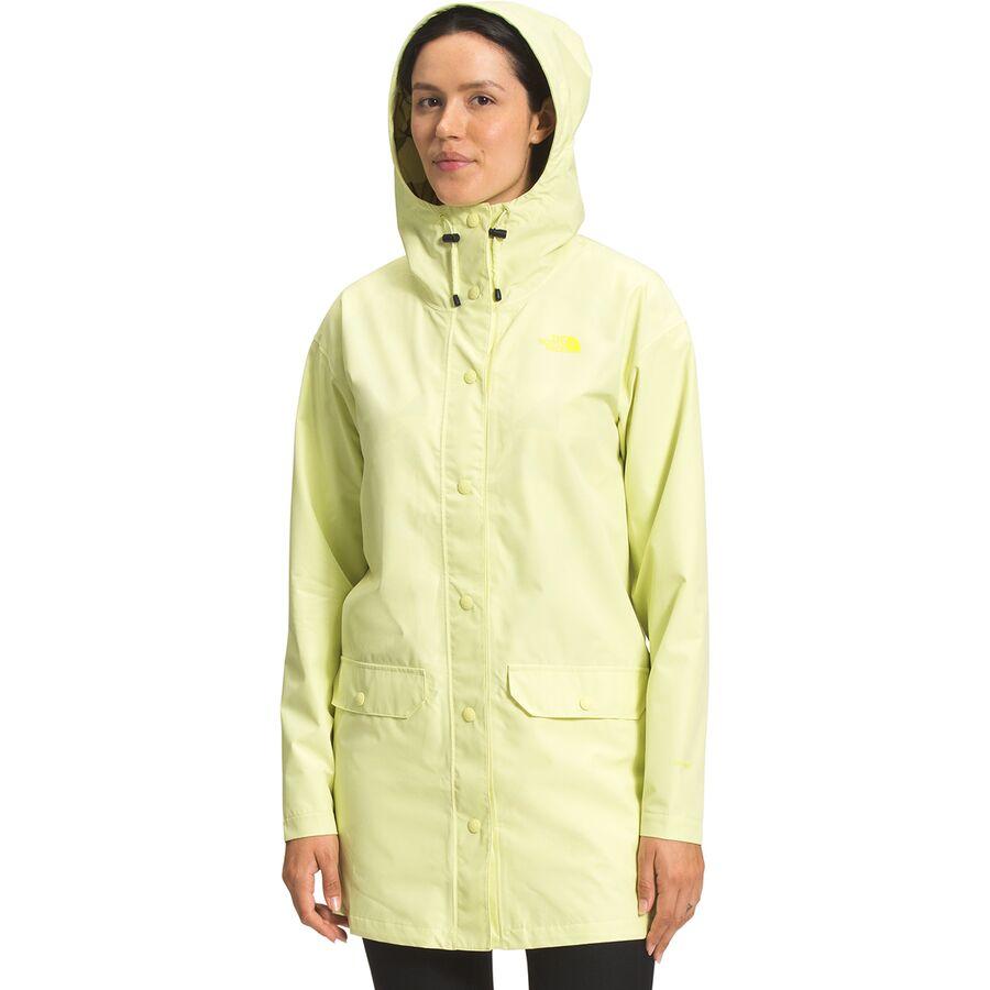 The North Face ノースフェイス レインウェア レインジャケット アウター ハイキング 登山 マウンテン アウトドア 雨具 大きいサイズ ビッグサイズ  (取寄)ノースフェイス レディース ウッドモント レイン ジャケット - ウィメンズ The North Face Women's Woodmont Rain Jacket - Women's Pale Lime Yellow